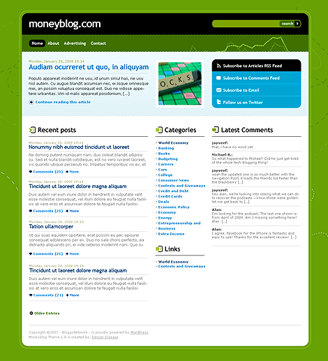 Money WordPress Theme