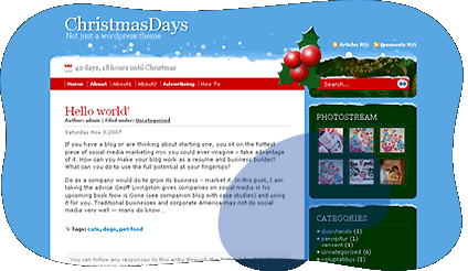 Top 5 Wordpress Christmas Themes