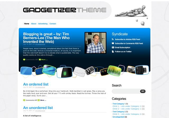 Gadgetizer WordPress Theme