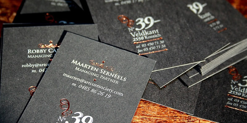 A Showcase Of Grunge In Business Card Design