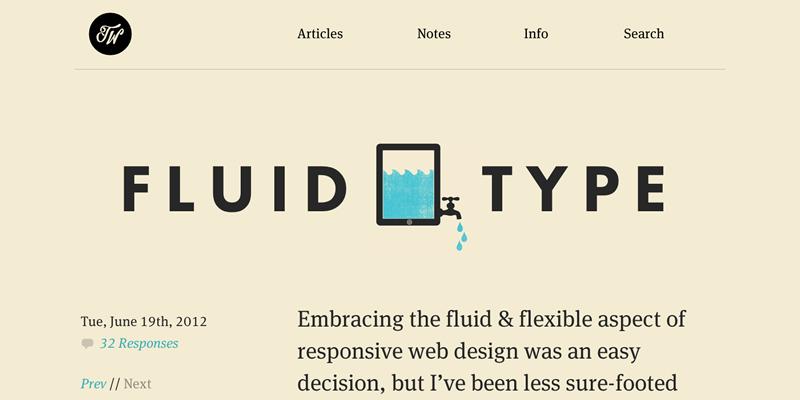 Fluid Type - Trent Walton