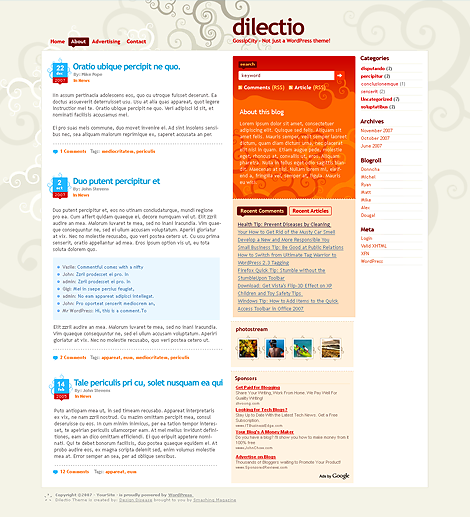 Dilectio WordPress Theme