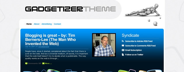 Gadgetizer Free WordPress Theme