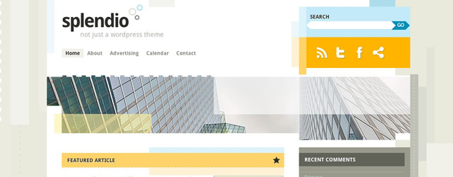 Splendio Free WordPress Theme