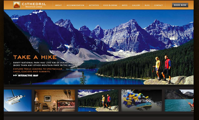 45 Inspiring Travel & Tourism Website Designs
